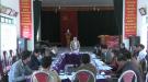 Thẩm định kết quả thực hiện chương trình xây dựng nông thôn mới năm 2018 tại xã Minh Đài, huyện Tân Sơn