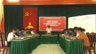 Tân Sơn diễn tập PCTT và tìm kiếm cứu nạn cấp xã năm 2019
