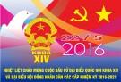 Nhiệt liệt chào mừng cuộc bầu cử Đại biểu Quốc hội khóa XIV và Đại biểu Hội đồng nhân dân các cấp nhiệm kỳ 2016 - 2021