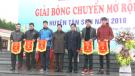Giải bóng chuyền mở rộng huyện Tân Sơn năm 2018