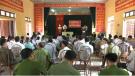 UBND xã Xuân Đài tổ chức diễn đàn Công an lắng nghe ý kiến nhân dân