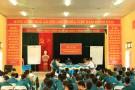 Hơn 100 học viên dự buổi diễn tập trị an tại xã Xuân Đài năm 2015