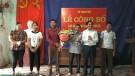 Tân Sơn: Hoàn thành sáp nhập khu dân cư, chi bộ