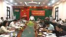 UBND huyện Tân Sơn họp thường kỳ tháng 11/2018
