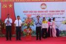 Đồng chí Bùi Văn Quang – Phó Bí thư Thường trực Tỉnh ủy dự Ngày hội đại đoàn kết toàn dân tộc tại Tân Sơn