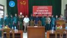Tân Sơn: Khai mạc huấn luyện tự vệ Cụm trung tâm