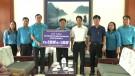 LĐLĐ tỉnh thăm và tặng quà cho người lao động bị thiệt hại do bão số 3