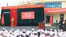 đồng chí Vũ Tiến Bắc - Phó Chủ tịch UBND huyện phát biểu tại buổi lễ
