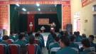 Cụm xã Xuân Đài: Ra quân huấn luyện dân quân tự vệ năm 2018