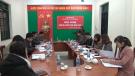 Trung tâm Văn hóa thể thao và Du lịch huyện Tân Sơn tổ chức hội nghị cán bộ, viên chức năm 2019