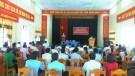 Đại biểu Quốc hội tỉnh Phú Thọ tiếp xúc cử tri trước Kỳ họp thứ 6 tại huyện Tân Sơn
