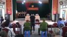 Tân Sơn xét xử lưu động 2 vụ án hình sự