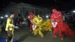 Tân Sơn tổ chức đêm hội trung thu và tặng quà cho trẻ em tại xã Thu Cúc