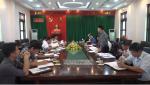 Đoàn công tác Cục thống kê tỉnh Phú Thọ làm việc tại huyện Tân Sơn về tình hình kinh tế xã hội huyện 6 tháng đầu năm 2018