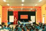 Học viên khoa quân sự địa phương Trường Sỹ quan lục quân I đi thực tế tại huyện Tân Sơn