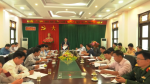 Tân Sơn: tổ chức hội nghị triển khai các biện pháp ngăn chặn dịch tả lợn Châu Phi