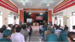 Tân Sơn: Diễn tập chiến đấu phòng thủ xã Minh Đài năm 2018