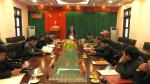 UBND huyện Tân Sơn họp thường kỳ tháng 1/2017