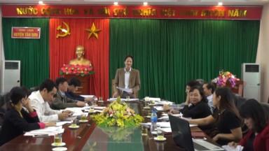 Kiểm tra cải cách hành chính, công vụ năm 2018 tại huyện Tân Sơn