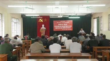 Tân Sơn bồi dưỡng kiến thức QP, AN cho già làng, người có uy tín