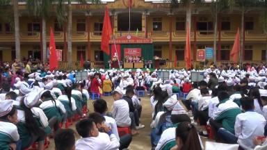 Xã Tân Sơn tổ chức lễ kỷ niệm 35 năm ngày Nhà giáo Việt Nam 20/11