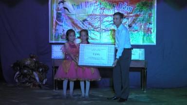 Đ/c Trần Khắc Thăng, PCT UBND huyện dự Tết trung thu tại xã Thu Ngạc