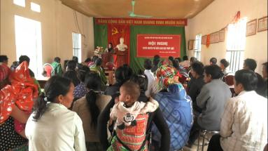 Tân Sơn: Tuyên truyền phổ biến giáo dục pháp luật tại xã Thu Cúc.