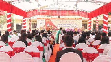 Trường THPT Minh Đài Kỷ niệm 40 năm thành lập trường và đón nhận danh hiệu trường học đạt chuẩn QG.