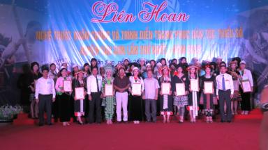 Liên hoan nghệ thuật quần chúng và trình diễn trang phục DTTS huyện Tân Sơn lần thứ  Nhất – năm 2019