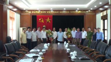 Thông báo nghị quyết, quyết định của Ban thường vụ Tỉnh ủy về công tác cán bộ tại huyện Tân Sơn