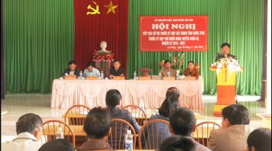 Đại biểu HĐND tỉnh, HĐND huyện Tân Sơn tiếp xúc cử tri xã Lai Đồng
