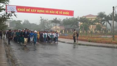 Tân Sơn: Tổ chức ngày chạy Olympic vì sức khỏe toàn dân năm 2019