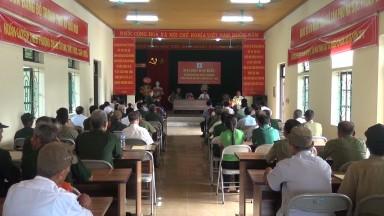 Đại hội Đại biểu Hội nạn nhân chất độc da cam/Dioxin huyện Tân Sơn  lần thứ II, nhiệm kỳ 2017 - 2022