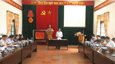 Giám sát tình hình, kết quả thực hiện công tác bảo vệ và phát triển rừng tại huyện Tân Sơn