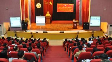 Hội thảo khoa học tư vấn, đề xuất các giải pháp góp phần thúc đẩy khởi nghiệp trên địa bàn tỉnh