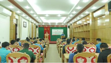 Học tập Nghị quyết Đại hội Đoàn các cấp, nhiệm kỳ 2017-2022