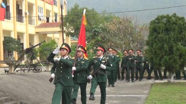 Tân Sơn: Ra quân huấn luyện năm 2018