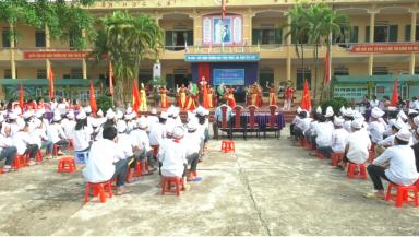 Trường THCS Tân Phú tổ chức Lễ kỷ niệm 128 năm ngày sinh  Chủ tịch Hồ Chí Minh
