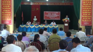 Tân Sơn: Tiếp xúc cử tri sau kỳ họp thứ sáu HĐND tỉnh khóa XVIII, sau kỳ họp thứ tám HĐND huyện khóa III