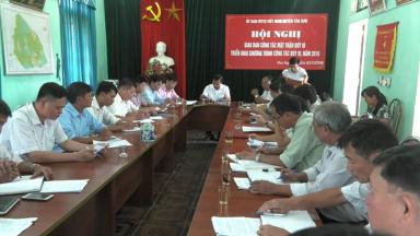 Ủy ban MTTQ huyện giao ban công tác Mặt trận quý III năm 2018