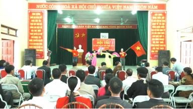 Hội thi Bí thư chi bộ giỏi cụm xã Xuân Đài
